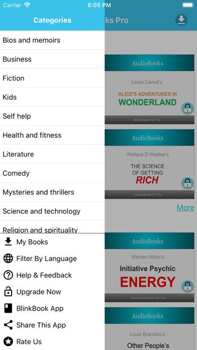 AudioBooks Pro - Best Books screenshot three