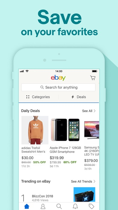 Download Shop, Sell & Save with eBay for Pc