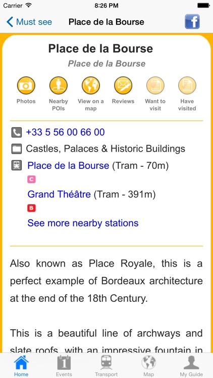Bordeaux Travel Guide Offline screenshot-4