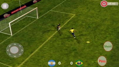 Ultimate FootBall Super League:Game screenshot two