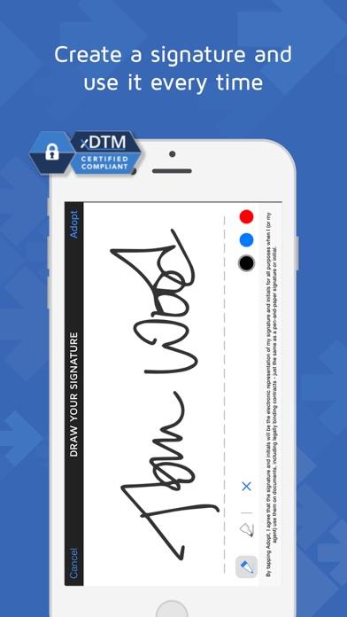 DocuSign - Upload & Sign Docs app image