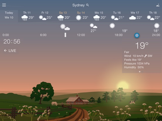 YoWindow Weather Screenshots