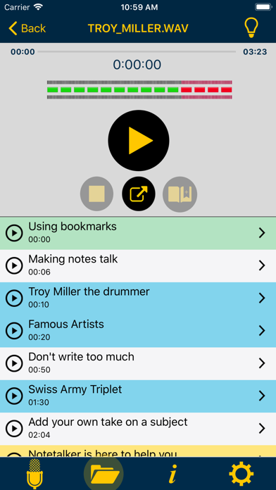 Notetalker-make better notes screenshot two