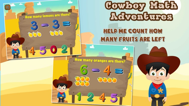Cowboy Math Adventure