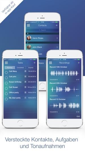 Geheime Taschenrechner App iPhone