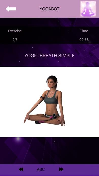 Yoga for beginners - YogaBot screenshot 1
