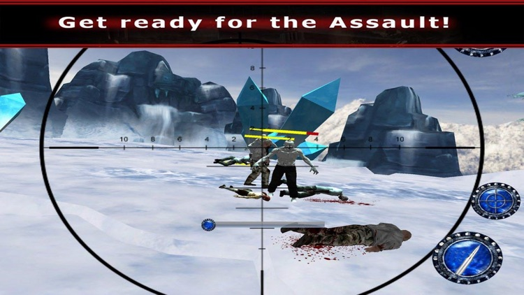 Snow Hunting Zombie 3D