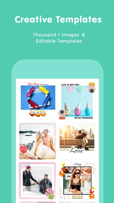 Postick - Text Photo Editor screenshot one
