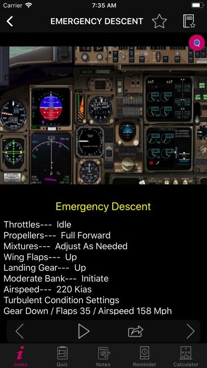 ATR 72 Simulator Checklist screenshot-3