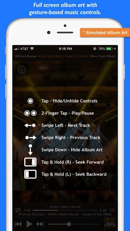 Platinum Music Album Player screenshot-5
