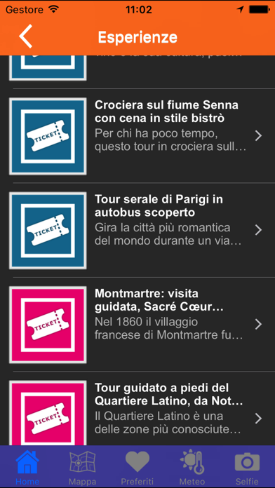Screenshot of Parigi una guida utile2