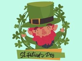 St. Patrick's Day Wish Sticker