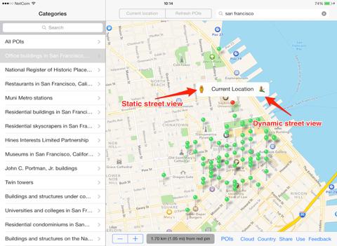 MapXplore - náhled