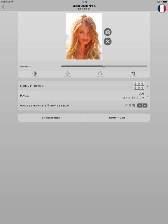 Screenshot #4 pour Photos d'identité Pro
