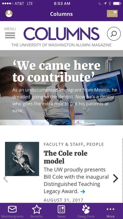 University of Washington Alumni Association screenshot-4