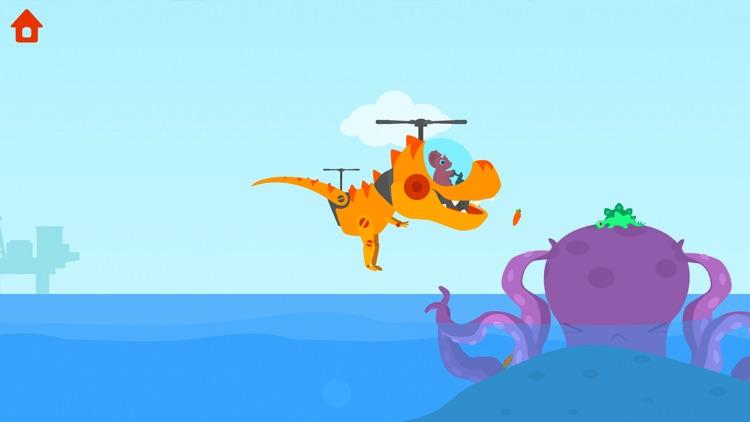Dinosaur Helicopter screenshot-4