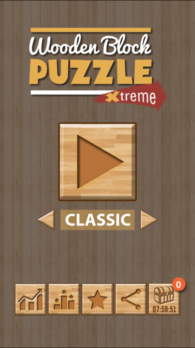 Wooden Block Puzzle Extreme Screenshot