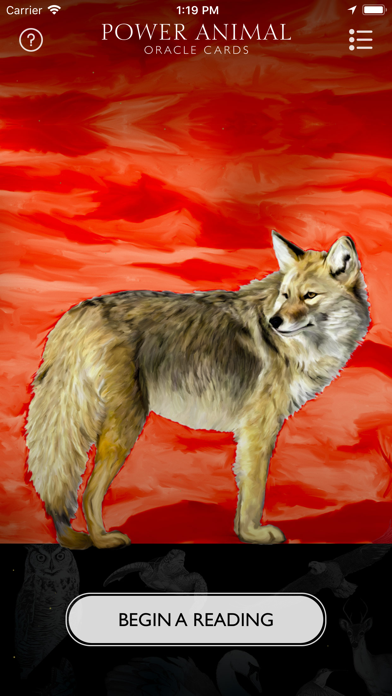 Power Animal Oracle Cards screenshot 1