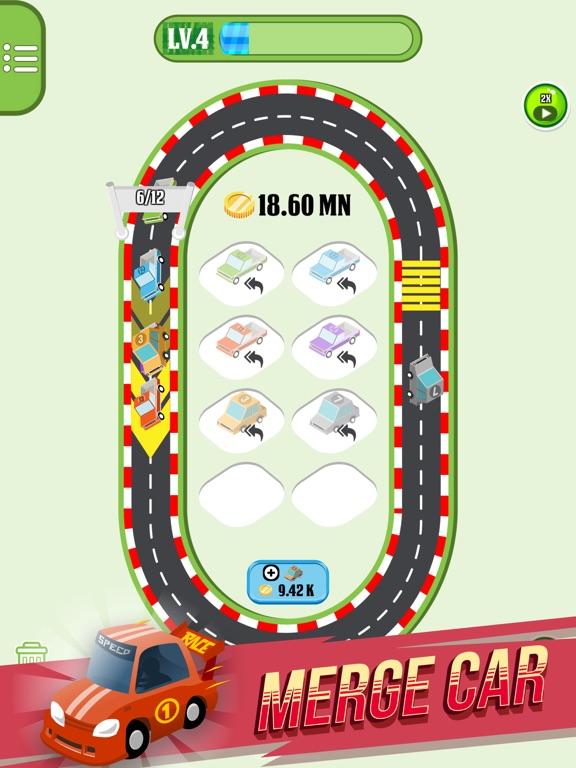 Merge Cars City Evolution на iPad