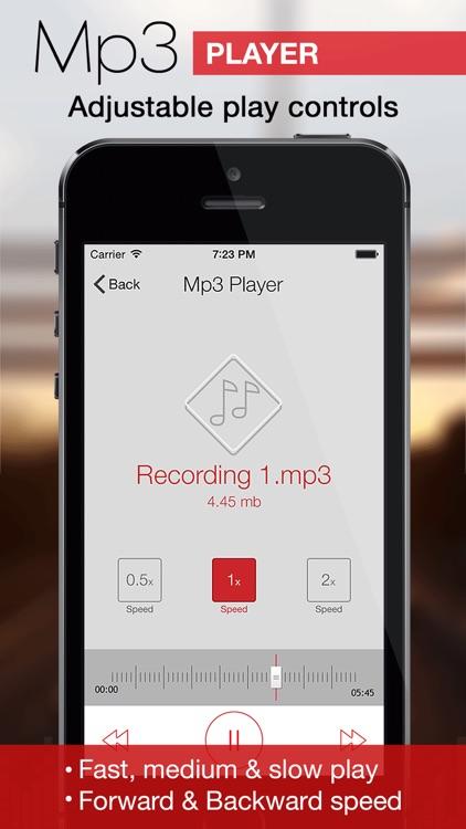 Mp3 Voice  Recorder HD Pro