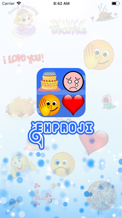 Exproji - Emoji Gif Stickers screenshot-0