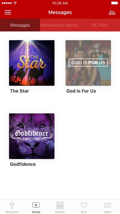 Rescue Church App screenshot 2