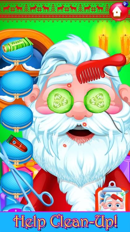 Santa Hair Salon Christmas Spa screenshot-5