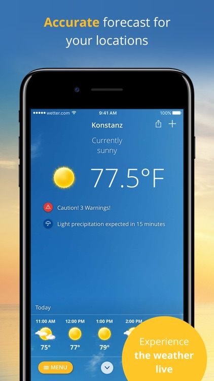 wetter.com screenshot-0