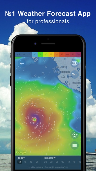 WINDY - wind & waves forecast for Windows