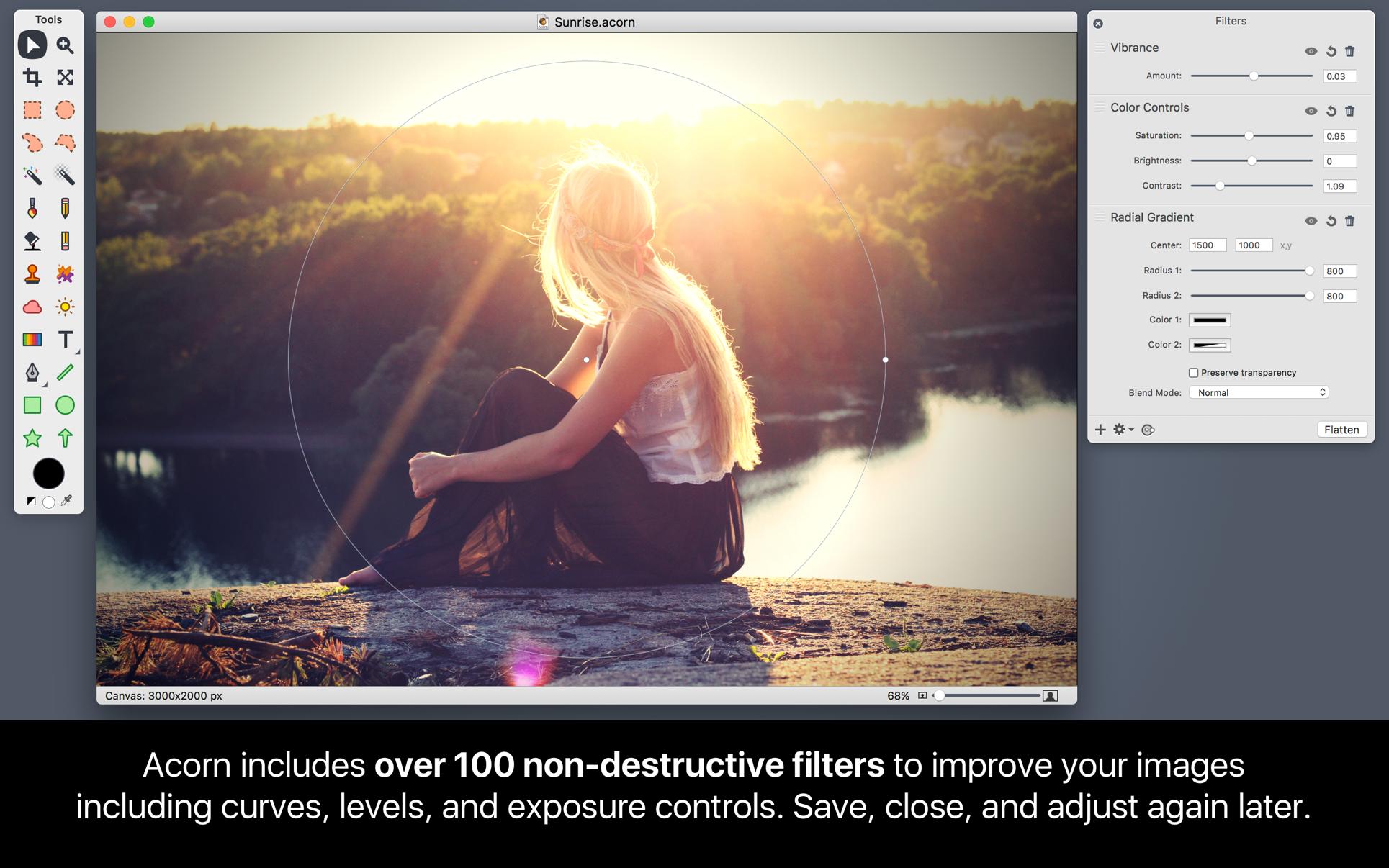 Acorn 6.6.3 Mac 破解版 优秀的图片编辑处理软件