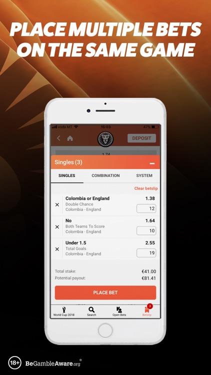 LeoVegas Sports Betting screenshot-6