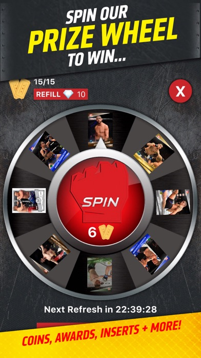 UFC KNOCKOUT: MMA Card Trader Screenshot
