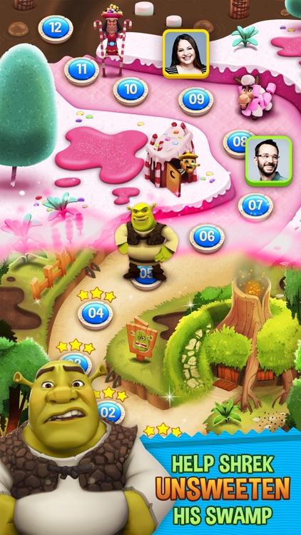 Shrek Sugar Fever screenshot-0