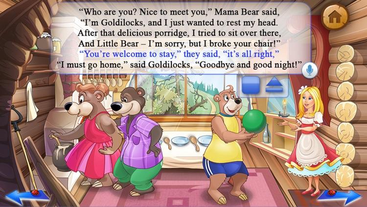 Goldilocks & the 3 Bears Book