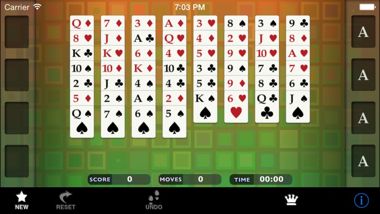 NBTD FreeCell Lite screenshot-2