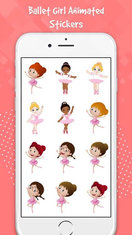 Ballet Girls Stickers
