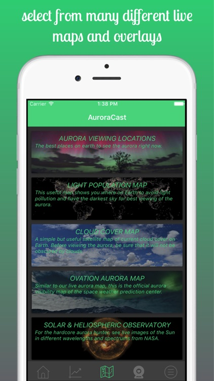 AuroraCast - Aurora Forecast screenshot-3