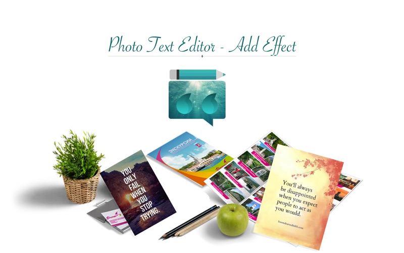 Photo Text Editor - Add Effect for Mac