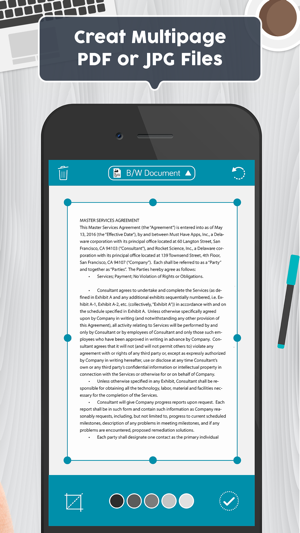 Document to iphone pdf