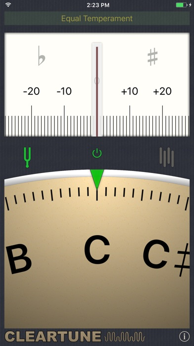 Cleartune - Chromatic Tuner Screenshot 1