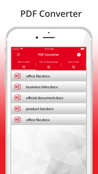 PDF Converter & Reader Screenshot on iOS