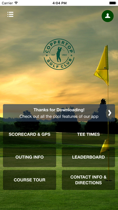 Coppertop Golf Club screenshot 1