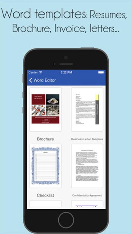 Office Word : for MS Docs edit