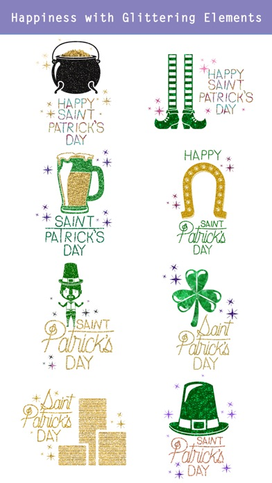 Glittering St. Patrick's Day screenshot 3