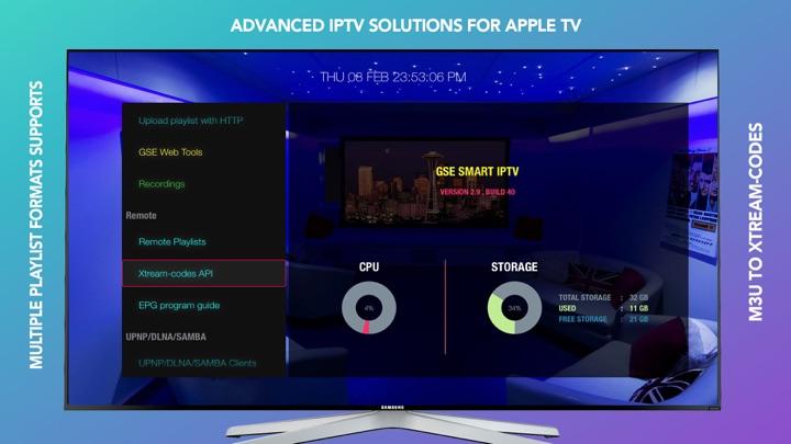 Screenshot #1 pour GSE SMART IPTV PRO