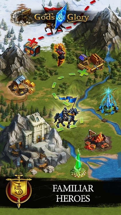 Gods and Glory: Throne wars screenshot-0