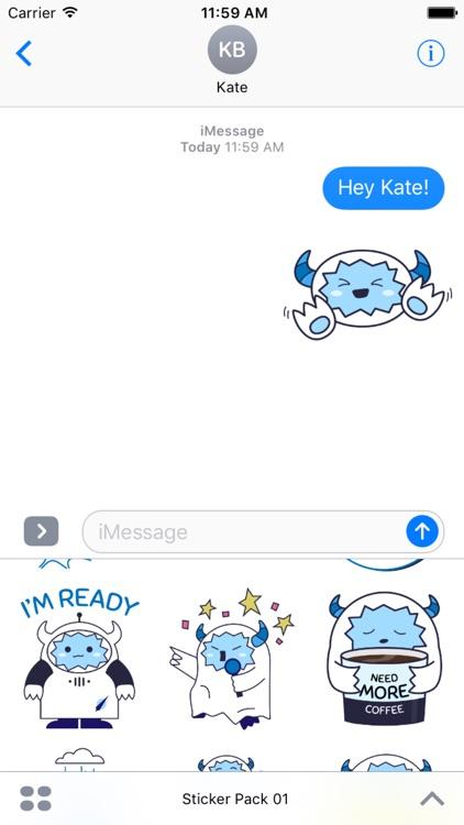 Babi Yeti Stickers