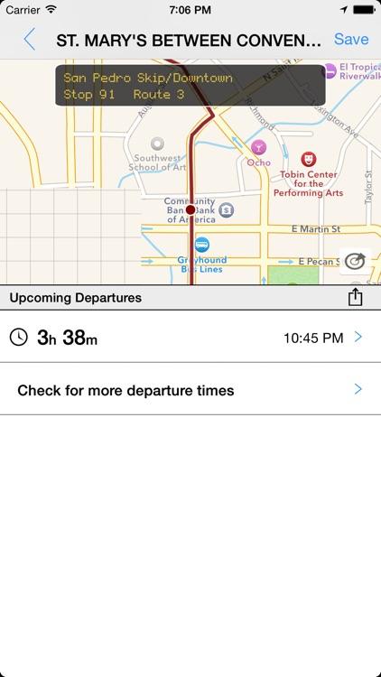 Transit Tracker - San Antonio