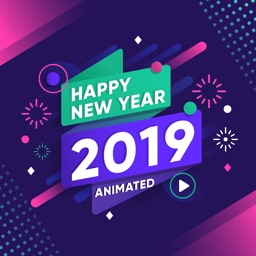 2019 Happy New Year Animated