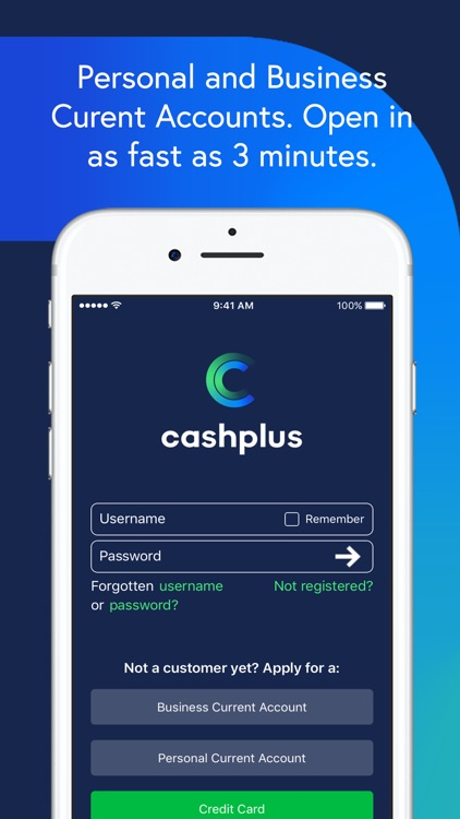 Cashplus Mobile App screenshot-0